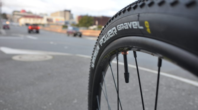 Rubber to the road:  My review on the Michelin Power Gravels